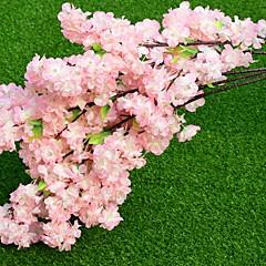 billige Kunstige blomster-Kunstige blomster 1 Gren Klassisk Scenerekvisitter Evige blomster Gulvblomst