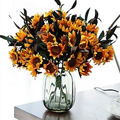 billige Kunstige blomster-Kunstige blomster 1 Gren Singel Moderne Moderne Evige blomster Gulvblomst