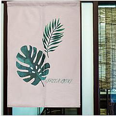 tanie Akcesoria okienne-Panel drzwi Zasłony zasłony Salon Nowoczesny Poly / Cotton Mieszanka Nadruk i żakard