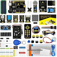 cheap -Keyestudio Super Starter kit/Learning Kit(UNO R3) for arduino Starter kit with 32 Projects 1602 LCD