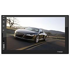 billiga DVD-spelare till bilen-swm 7784ad 7 tum 2 din andra os / android7.1.1 bil mp5 spelare / bil mp4 spelare / bil mp3-spelare pekskärm / mp3 / inbyggd bluetooth för universal rca / annat stöd mpeg / avi / mpg wma