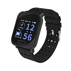 tanie Inteligentne zegarki-Kimlink L3 Inteligentny zegarek Android iOS Bluetooth Pulsometry Pomiar ciśnienia krwi Ekran dotykowy Spalonych kalorii Śledzenie Odległość Krokomierz Powiadamianie o połączeniu telefonicznym
