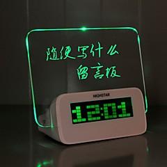 billige Veggklokker-Vekkerklokke Digital Plastikker LED 1 pcs