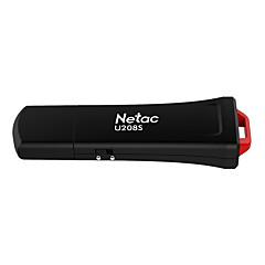 baratos Pen Drive USB-Netac 16GB unidade flash usb disco usb USB 2.0 Revestimento em Plástico Cubóide Encriptado U208S