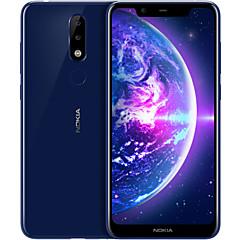 """billige Telefoner og nettbrett-NOKIA NokiaX5 5.85 tommers """" 4G smarttelefon ( 4GB + 64GB 5 mp / 13 mp MediaTek MT6771 3060 mAh mAh )"""
