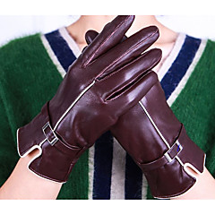 tanie Rękawiczki motocyklowe-Pełny palec Damskie Rękawice motocyklowe Skóra owcza Zatrzymujący ciepło / Wodoodporność / Ochronne