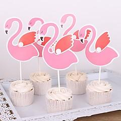 billige Kakedekorasjoner-Kakepynt Klassisk Tema / Ferie / Bryllup Kunstnerisk / Retro / Unikt design Rent papir Bryllup / Bursdag med Tvinning 1 pcs OPP