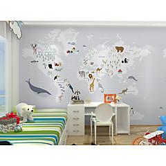 billige Tapet-bakgrunns / Veggmaleri Lerret Tapetsering - selvklebende nødvendig Maleri / Art Deco / Mønster