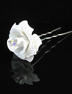 נשים נערת פרחים סגסוגת נייר כיסוי ראש-חתונה אירוע מיוחד קז'ואל חוץ סיכת שיער