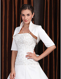 cheap Wedding Wraps-Half Sleeves Polyester Party / Evening Women's Wrap Wedding  Wraps With Embroidery Coats / Jackets