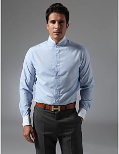 cheap Shirts-Men's Stylish Tailored Fit Shirt-Solid Colored