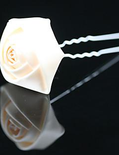 Χαμηλού Κόστους Φορέματα και αξεσουάρ για το χορό αποφοίτησης-Πέτρα & κρύσταλλο / Κρύσταλλο / Ύφασμα Τιάρες / Τεμάχια Κεφαλής / Τσιμπιδάκι με Κρυσταλλάκια 1 Γάμου / Ειδική Περίσταση / Πάρτι / Βράδυ Headpiece