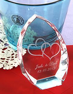 ieftine Figurine de Cristal-Cristal Produse de Cristal Mireasă Părinți Nuntă Aniversare Inaugurare a unei case