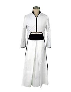 """billige Anime Kostymer-Inspirert av Cosplay Cosplay Anime  """"Cosplay-kostymer"""" Cosplay Klær Japansk Kimono Lapper Langermet Frakk Belte Hakama bukser Til Mann"""