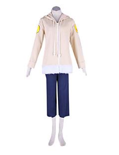 """billige Anime Kostymer-Inspirert av Naruto Hinata Hyuga Anime  """"Cosplay-kostymer"""" Cosplay Klær Lapper Langermet Frakk / Bukser Til Herre / Dame Halloween-kostymer"""