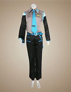 """billige Videospill Kostymer-Inspirert av Vokaloid Mikuo video Spill  """"Cosplay-kostymer"""" Cosplay Klær Lapper Ermeløs Trøye / Bukser / Ermer Halloween-kostymer / Satin"""