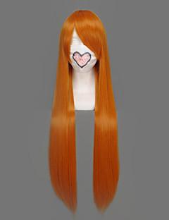 billige Anime cosplay-Cosplay Parykker Dead Orihime Inoue Anime Cosplay-parykker 32 tommers Varmeresistent Fiber Dame Halloween-parykker