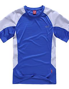 Herrn T-Shirt für Wanderer Rasche Trocknung Feuchtigkeitsdurchlässigkeit Außen T-shirt Oberteile für Camping & Wandern Klettern Freizeit