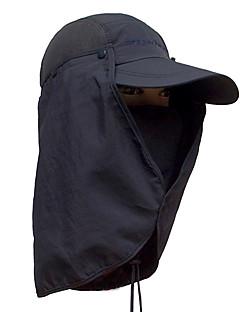 billige Clothing Accessories-Fiskelue UV-beskyttende lue Cap Fort Tørring Solkrem Camping & Fjellvandring Sykling / Sykkel Herre Dame Ensfarget