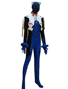 baratos Fantasias Anime-traje cosplay inspirado Neon Genesis Evangelion Ikari Shinji collant