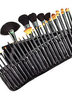 cheap -32pcs Makeup Brushes Professional Makeup Brush Set Goat Hair / Pony / Synthetic Hair Middle Brush / Goat Hair Brush / Pony Brush