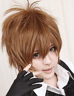 billiga Anime/Cosplay-peruker-Cosplay Peruker Reborn! Tsunayoshi Sawada Animé Cosplay-peruker 30 CM Värmebeständigt Fiber Herr