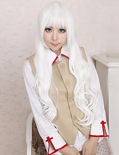Cosplay Paruky Angel Sanctuary Rosiel Biały Dlouhé Anime Cosplay Paruky 80 CM Horkuvzdorné vlákno Pánský