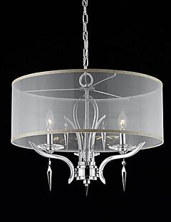Max 50W Moderne / Nutidig / Drum Krystall Krom Lysekroner Stue / Soverom / Spisestue / Leserom/Kontor