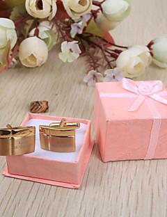 Mire Naș de Căsătorie Teak Butoni & Ace de Cravată  Nuntă Zi de Naștere