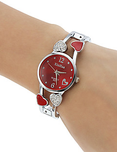 Women's Quartz Analog Heart Style Hollow Alloy Band Strap Bracelet Watch (Assorted Colors) Cool Watches Unique Watches Fashion Watch