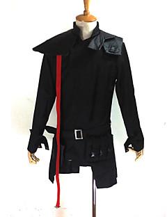 """billige Anime cosplay-Inspirert av Guilty Crown Tsutsugami Gai Anime  """"Cosplay-kostymer"""" Cosplay Klær Lapper Langermet Frakk / Veske Til Herre Halloween-kostymer"""