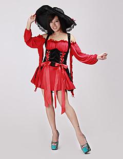 Pirat Cosplay Kostumer Party-kostyme Kvinnelig Halloween Karneval Festival/høytid Halloween-kostymer Lapper