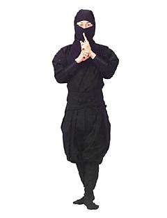 baratos Trajes da Noite das Bruxas-Ninja Fantasias de Cosplay Festa a Fantasia Homens Dia Das Bruxas Carnaval Ano Novo Festival / Celebração Roupa Sólido / Cetim