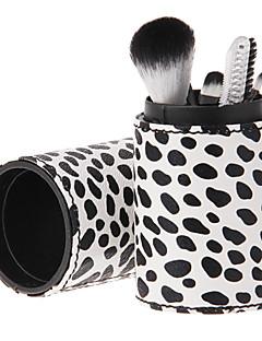 6 Fırça Setleri Sentetik Saç Yüz / Dudak / Göz