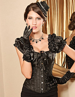 Corset Gothic Lolita Black Lolita Accessories For Polyester