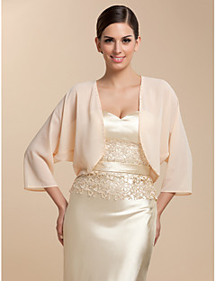 cheap Wedding Wraps-Chiffon Party Evening Casual Wedding  Wraps Coats / Jackets