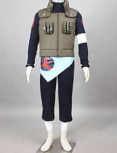 """billige Anime Kostymer-Inspirert av Naruto Asuma Sarutobi Anime  """"Cosplay-kostymer"""" Cosplay Klær Lapper Langermet Bandasje Vest Bukser Midje Tilbehør T-Trøye Til"""