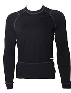 cheap Cycling Underwear & Base Layer-Jaggad Men's Long Sleeves Cycling Base Layer Bike Thermal / Warm, Fleece Lining, Breathable