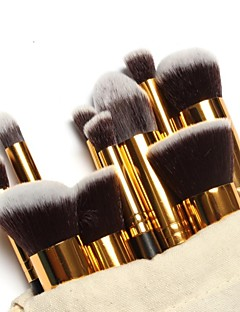 voordelige Make-upborstels-10 stuks professioneel Make-up kwasten Brush Sets / Foundationkwast / Poederkwast Nylonkwast Draagbaar / Voor tijdens de reis /
