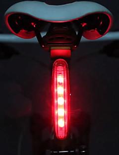 billiga Cykling-Cykellyktor säkerhetslampor Baklykta till cykel LED Cykelsport LED ljus AAA Lumen Batteri Cykling - MOON