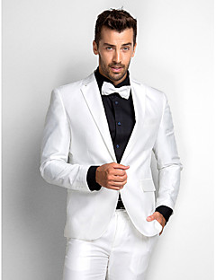 Tuxedos Standard Fit Slim Notch Single Breasted One-button Polyester 2 Pieces