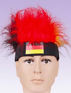 Accesoriu de Păr Festival/Sărbătoare Costume de Halloween Roșu / Alb Cordeluțe Halloween / CarnavalTerilenă / Poliester / Piele