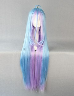 cheap Anime Cosplay Wigs-Cosplay Wigs No Game No Life Cosplay Anime Cosplay Wigs 105 CM Heat Resistant Fiber Women's