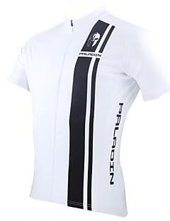 billige Sykkelklær-ILPALADINO Herre Kortermet Sykkeljersey Dyr Sykkel Jersey, Fort Tørring, Ultraviolet Motstandsdyktig, Pustende