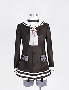 "billige Videospill cosplay-Inspirert av Kantai Collection Cosplay video Spill  ""Cosplay-kostymer"" Cosplay Klær Lapper Langermet Frakk / Hodeplagg / Hansker"