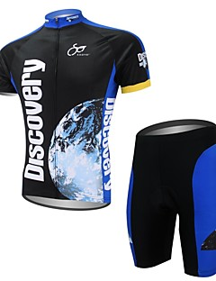 XAOYO Cycling Jersey with Shorts Men's Short Sleeves Bike Clothing Suits Quick Dry Back Pocket Polyester 100% Polyester Animal Cartoon