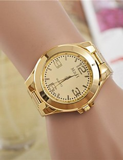 Dames Dress horloge Modieus horloge Kwarts Legering Band Zilver Goud