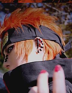 billiga Anime/Cosplay-peruker-Cosplay Peruker Naruto Cosplay Orange Animé Cosplay-peruker 14 tum Värmebeständigt Fiber Herr halloween Peruker