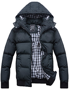 Men's Korean Style Winter Jacket  Collar Trend Coat
