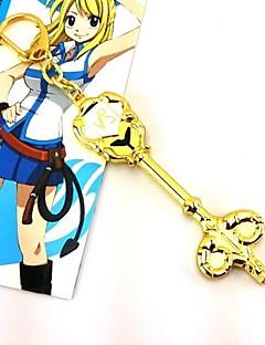 billige Anime Cosplay Tilbehør-Smykker Inspirert av Eventyr Cosplay Anime Cosplay-tilbehør Halskjeder Legering Dame Varmt